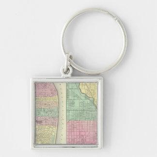 The City Of St Louis Missouri Key Chains