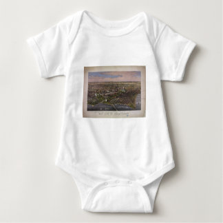 The City of Washington D.C. from 1880 Baby Bodysuit