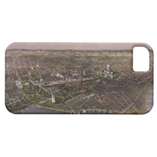 The City of Washington D.C. from 1880 iPhone 5 Covers