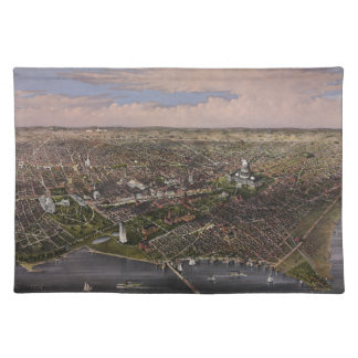 The City of Washington D.C. from 1880 Cloth Placemat