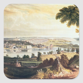 The City of Washington from beyond the Navy Square Sticker