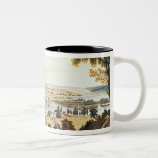 The City of Washington from beyond the Navy Two-Tone Coffee Mug