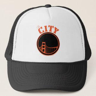The City - Orange Trucker Hat