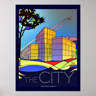 The City poster art