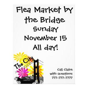 flea market flyers zazzle