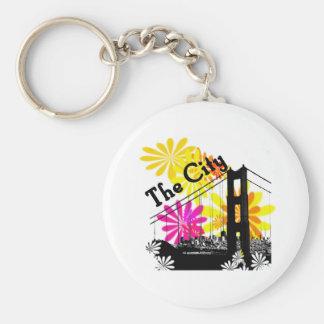 The City: San Francisco Keychain