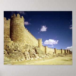 The city walls print