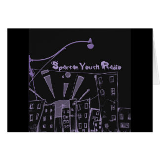 The City's Gone Purple SYR Greeting Card