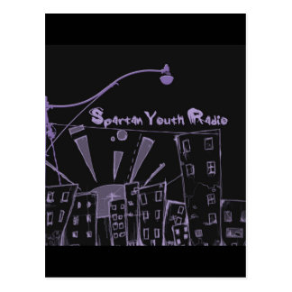 The City's Gone Purple SYR Postcard