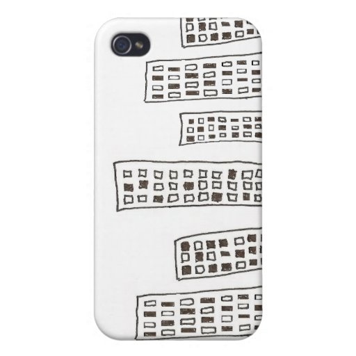 The Cityscape iPhone 4/4S Cases