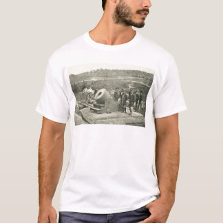 The Civil War Dictator Siege Mortar at Petersburg T-Shirt