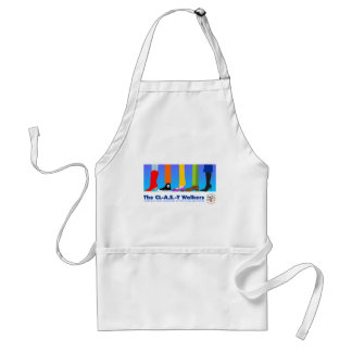 The CL-A.S.-Y Walkers Adult Apron