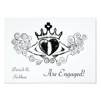 The Claddagh (Black) Card
