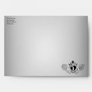 The Claddagh (Black) Envelope