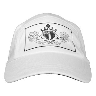 The Claddagh (Black) Headsweats Hat