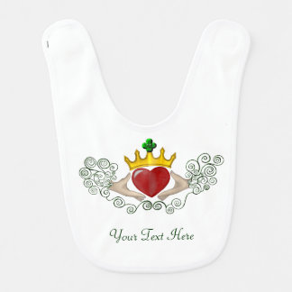 The Claddagh (Full Colour) Bib