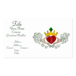 The Claddagh (Full Colour) Business Card