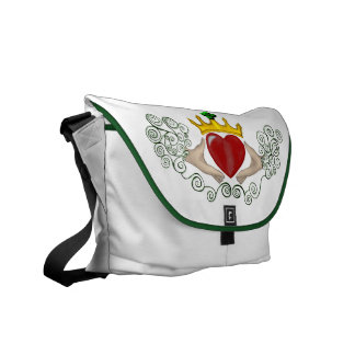 The Claddagh (Full Colour) Courier Bag