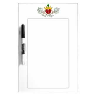 The Claddagh (Full Colour) Dry-Erase Board