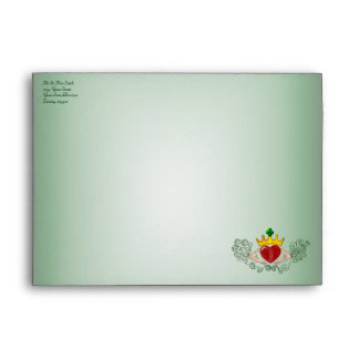 The Claddagh (Full Colour) Envelope