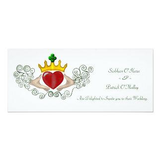 The Claddagh (Full Colour) Custom Invitations
