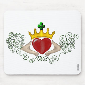 The Claddagh (Full Colour) Mouse Pad