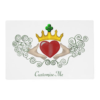 The Claddagh (Full Colour) Placemat