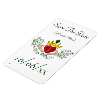 The Claddagh (Full Colour) (Save the Date) Flexible Magnets