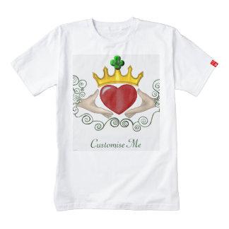 The Claddagh (Full Colour) Zazzle HEART T-Shirt