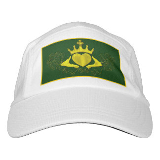The Claddagh (Gold) Headsweats Hat