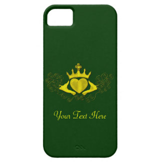 The Claddagh (Gold) iPhone 5 Cases