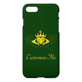 The Claddagh (Gold) iPhone 7 Case