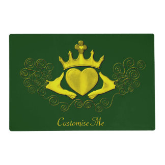 The Claddagh (Gold) Placemat