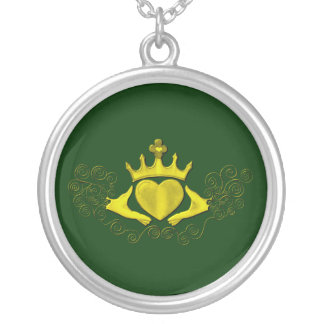 The Claddagh (Gold) Silver Plated Necklace