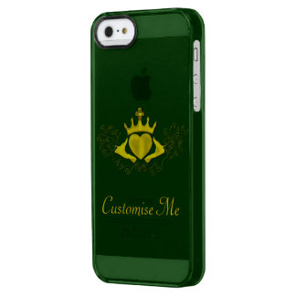 The Claddagh (Gold) Uncommon Clearly™ Deflector iPhone 5 Case