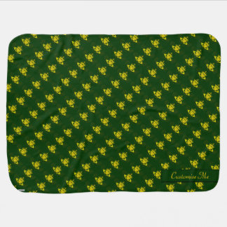 The Claddagh (Gold) Stroller Blankets