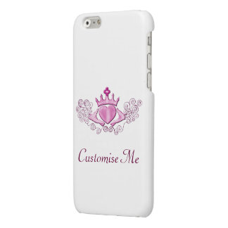 The Claddagh (Pink) Glossy iPhone 6 Case