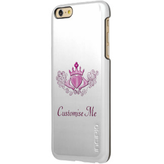The Claddagh (Pink) Incipio Feather Shine iPhone 6 Plus Case