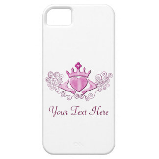 The Claddagh (Pink) iPhone SE/5/5s Case