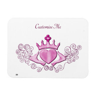 The Claddagh (Pink) Magnet