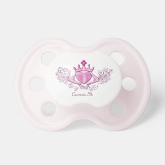 The Claddagh (Pink) BooginHead Pacifier