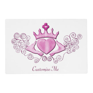 The Claddagh (Pink) Placemat