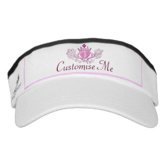 The Claddagh (Pink) Visor