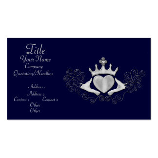 The Claddagh (Silver) Business Card