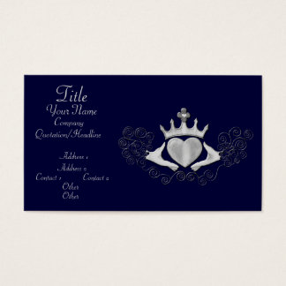 The Claddagh (Silver) Business Card