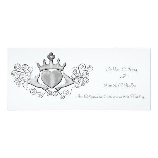 The Claddagh (Silver) Card