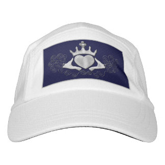 The Claddagh (Silver) Headsweats Hat