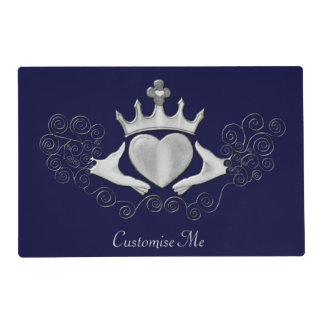 The Claddagh (Silver) Placemat