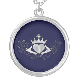 The Claddagh (Silver) Silver Plated Necklace