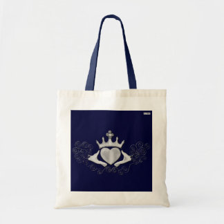 The Claddagh (Silver) Tote Bag